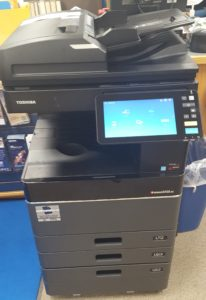 Check out our new color copier!