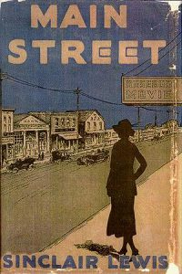 Main Street Cover by Sinclair Lewis